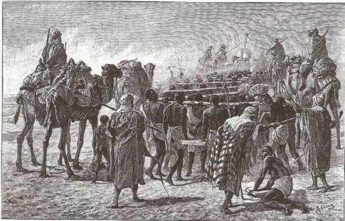 Трговијата со робови од страна на Арапите