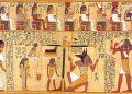 Сходство между папирусом Ани и последним судом