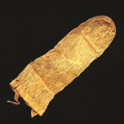 De faarwege Lengen Kondom, giess an Olivenueleg