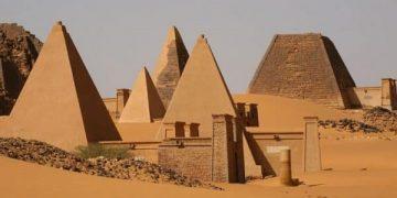 Pirámides en Nubia (Sudán)