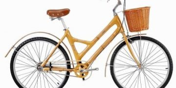 Bicicleta de bambú