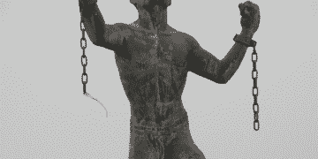 बुसा की मूर्ति, जिसे मुक्ति की मूर्ति भी कहा जाता है