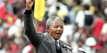 Inauguración di Nelson Mandela