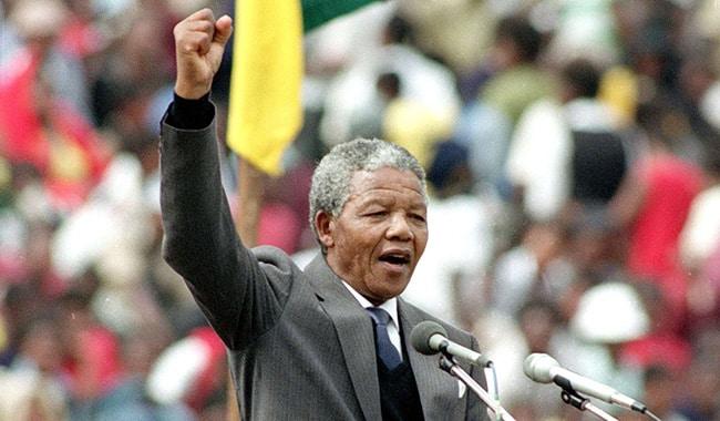 نیلسن منڈیلا کا آغاز