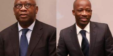Laurent Gbagbo dhe Charles Blé Goudé