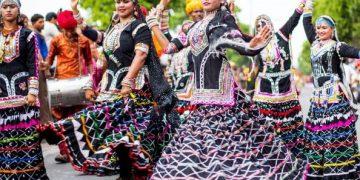 Jaipur Rajasthan Fesztivál