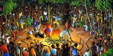 La prière de Boukman au Bois-Caïman