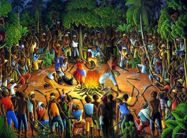 Boukman-en otoitza Bois-Caïman-en