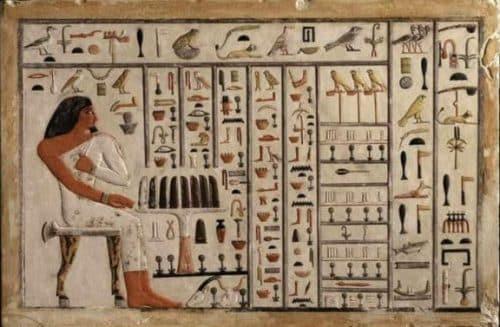 Izumi u starom Egiptu